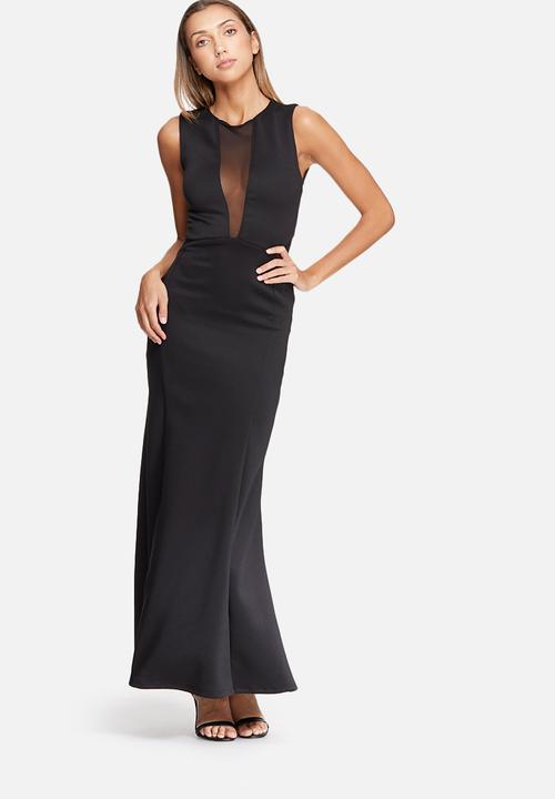 a2568d97c4 Fish tail maxi dress - black dailyfriday Occasion