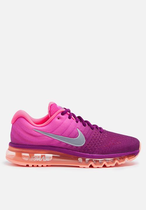 Nike W Air Max 2017 - 849560-502 - Bright Grape   Pink Blast   Peach ... 14d0d475d