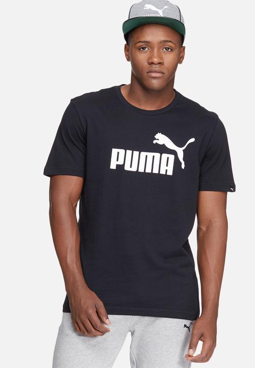 0931e4df ESS No.1 logo tee - black PUMA T-Shirts | Superbalist.com