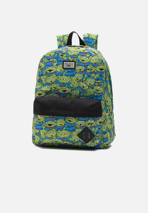 360cda1bfe Old skool II backpack - aliens Vans Bags   Wallets
