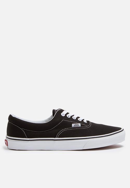 43400faf2c4 Vans Era - VN000EWZBLK - Black   White Vans Sneakers