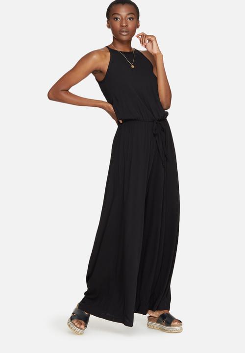 ab992d16b78d High neck jumpsuit - black dailyfriday Jumpsuits   Playsuits ...
