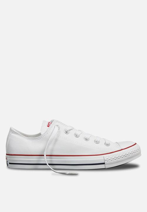 ec6445c035aa Converse CTAS OX Core Canvas - White Converse Sneakers
