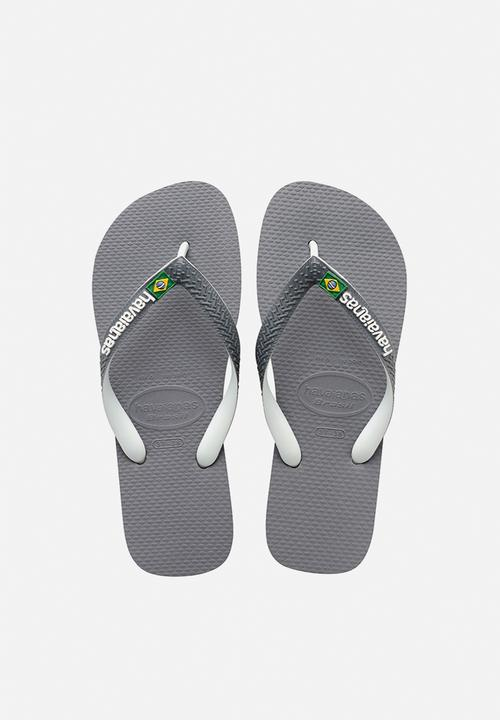 0f0d3f0f1 Brazil mix - steel grey   white Havaianas Sandals   Flip Flops ...