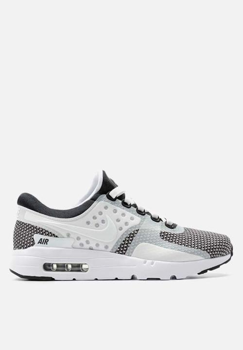577238d09ee0 Nike Air Max Zero ESS - 876070-005 - Black   White   Wolf Grey Nike ...