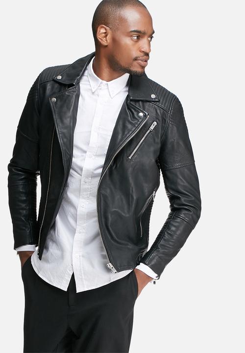 d352dec3a Leeds biker leather jacket