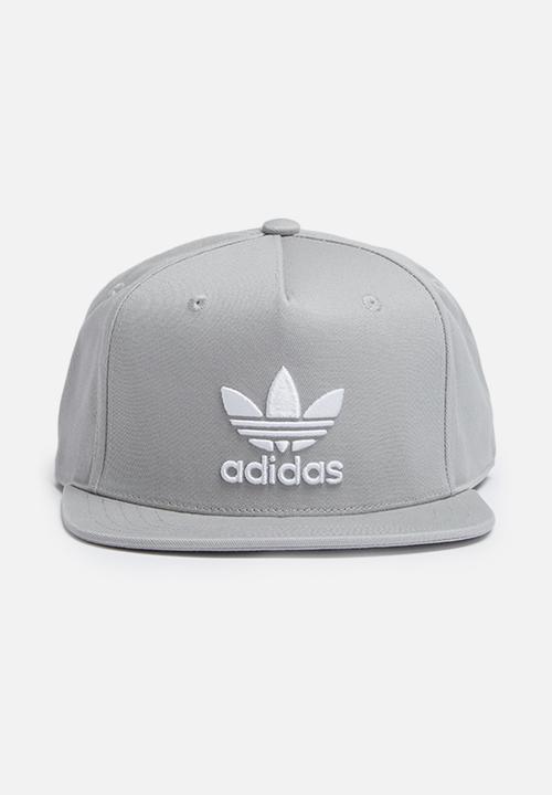 64596a791e6 Trefoil snb cap - mgh solid grey adidas Originals Headwear ...