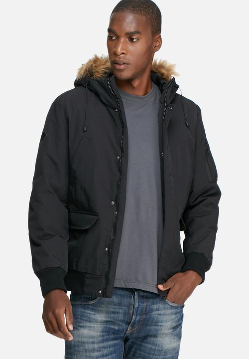 945b0568e53 Adam bomber jacket - black Only & Sons Jackets   Superbalist.com
