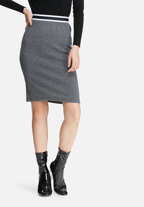 2b6fa9dbdf Bodycon skirt - charcoal Glamorous Skirts | Superbalist.com