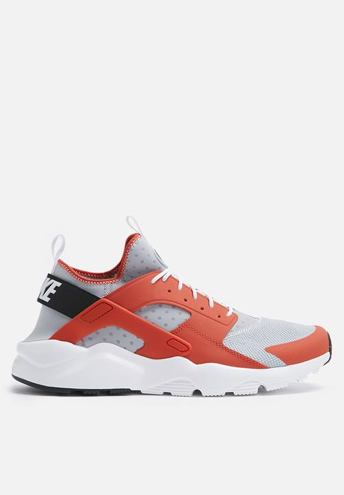 8f898402eff1 Nike Air Huarache Run Ultra - 819685-800 - Max Orange   Wolf Grey ...