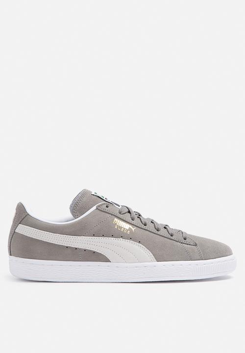 5db3f5ab403a Puma Suede Classic - 35263466 - Steeple Gray   White PUMA Sneakers ...