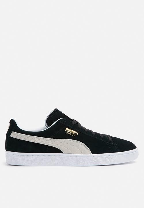 Puma Suede Classic - 35263403 - Black   White PUMA Sneakers ... b0deb4af8