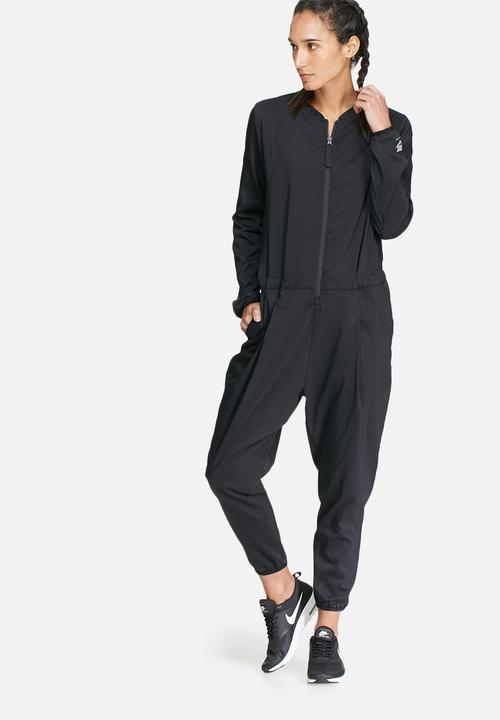 40b848a19e8 International jumpsuit - black Nike Jumpsuits   Playsuits ...