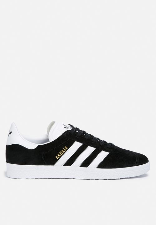 147e1d5ebe9 adidas Originals Gazelle - BB5476 - Core Black White Gold Met adidas ...