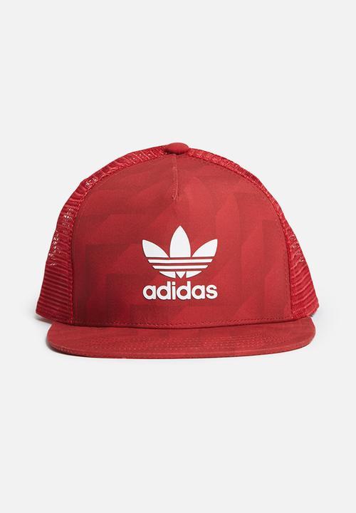 Snapback Cap Multco Black White Adidas Originals Headwear