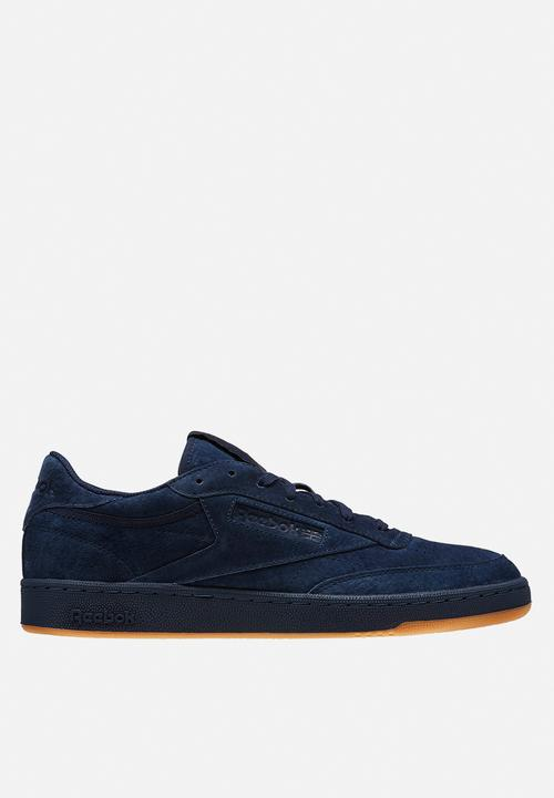 1b0fcbb36b6cd Reebok Club C 85 TG-Tonal Gum - BD5787 - Collegiate Navy Night Navy ...