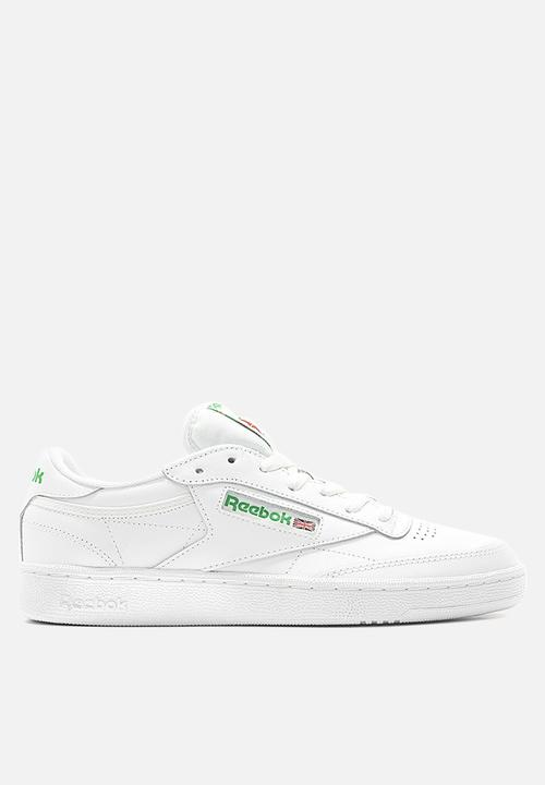 76c5328edc2 Reebok Club C 85 Foundation - AR0456 - Int-White Green Reebok ...