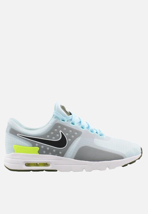 3b2581d4f30 Nike W Air Max Zero SI - 881173-400 - Glacier Blue   Black   Lagoon ...