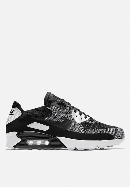 1535104d22161 Nike Air Max 90 Ultra 2.0 Flyknit - 875943-001 - Black   Black ...