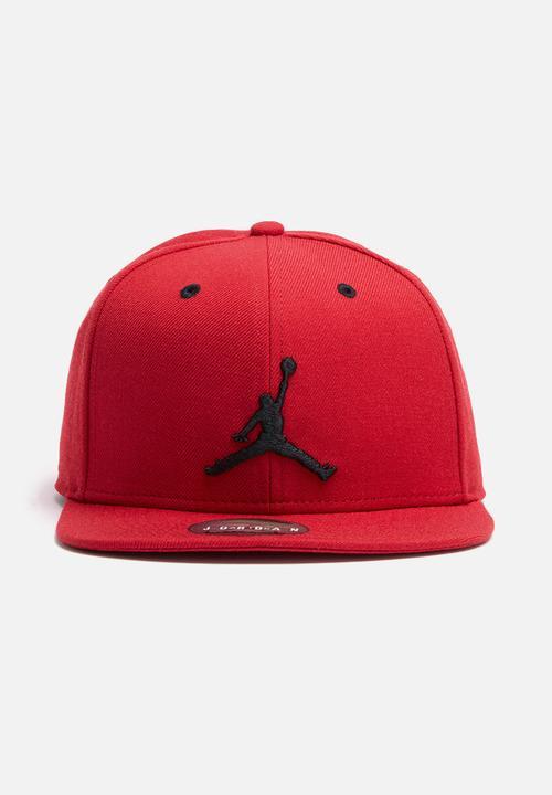 29b6459f47b Jordan jumpman snapback - red Nike Headwear