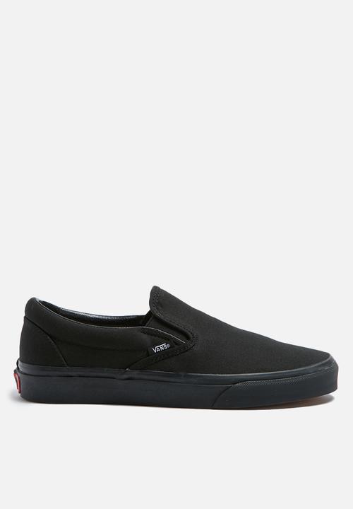 d2f9e3e8475a Vans Classic Slip-On - Black   Black Vans Sneakers