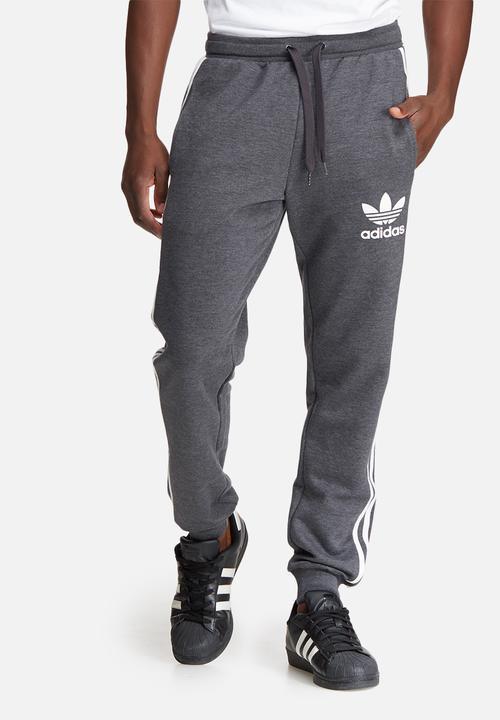 bde7026b829f Mens clfn melange track pant - black adidas Originals Sweatpants ...