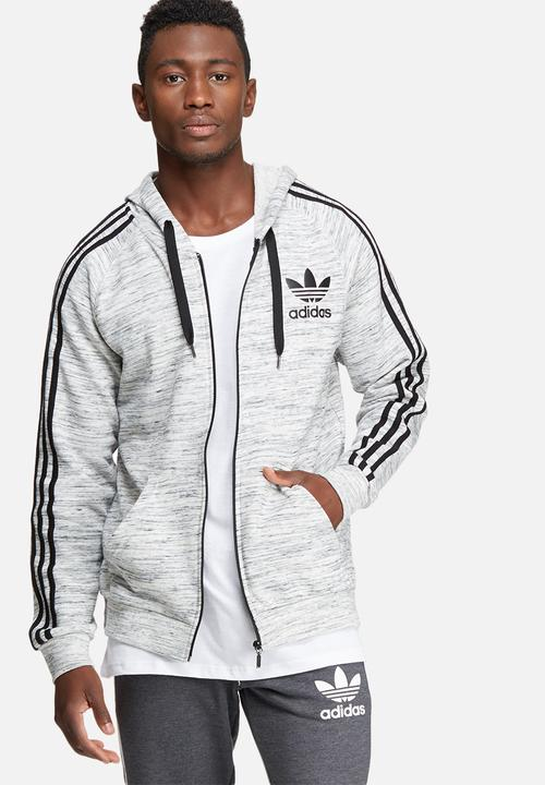 Soplar despensa obispo  Mens clfn ft fz hoodie - charcoal adidas Originals Hoodies, Sweats &  Jackets   Superbalist.com