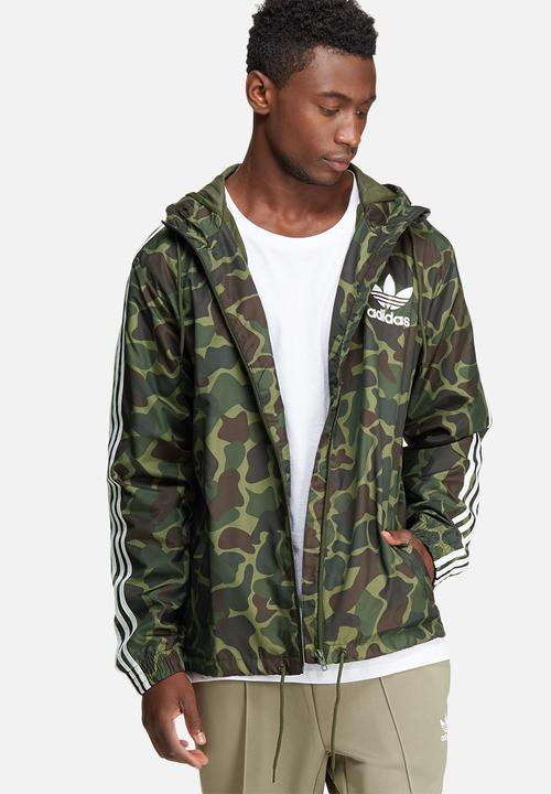 14cc7e31ac3f29 Clfn camo windbreaker adidas Originals Hoodies, Sweats & Jackets ...