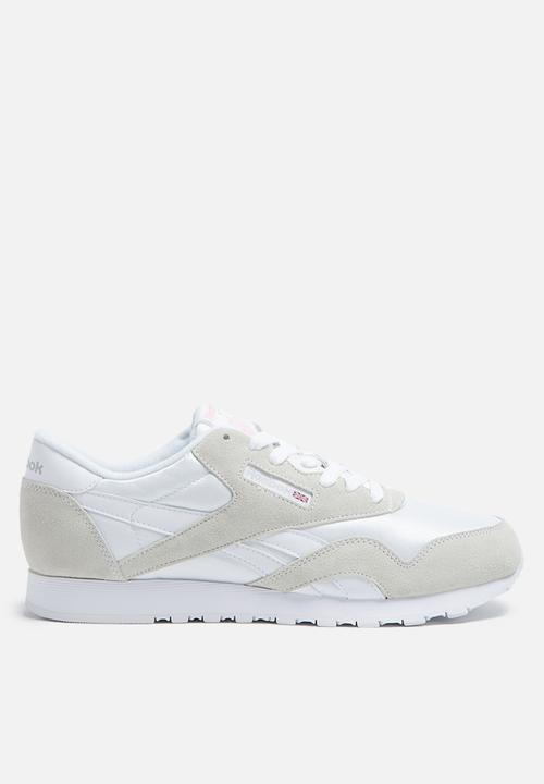 3af500f86a67c Reebok Classic Nylon Foundation - 6394 - White Light Grey Reebok ...