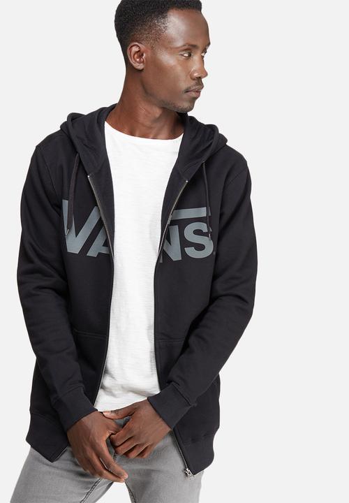 299df58a96cd2e Vans classic zip hoodie - black pewter Vans Hoodies   Sweats ...