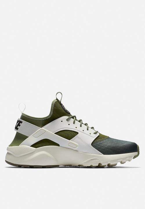 9dd4a59031487 Nike Air Huarache Run Ultra SE - 875841-300 - Palm Green   Sail ...