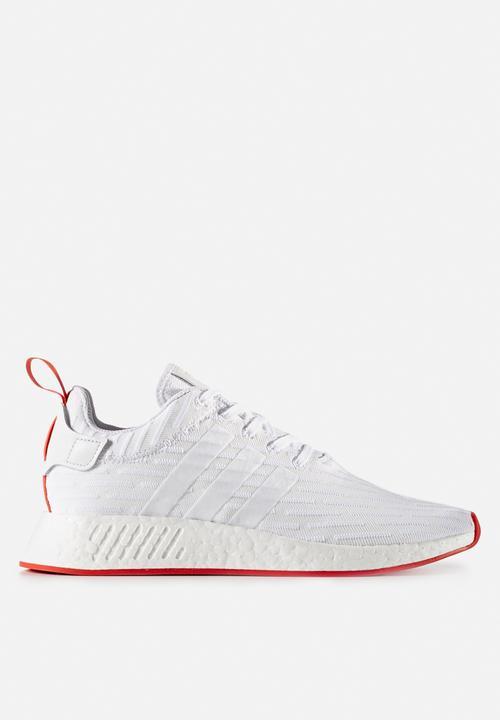 2b1cb3e41 adidas Originals NMD R2 PK - BA7253 - Ftw White   Collegiate Red ...