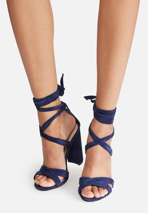 eacbcb41a08 Christey - navy suede Steve Madden Heels