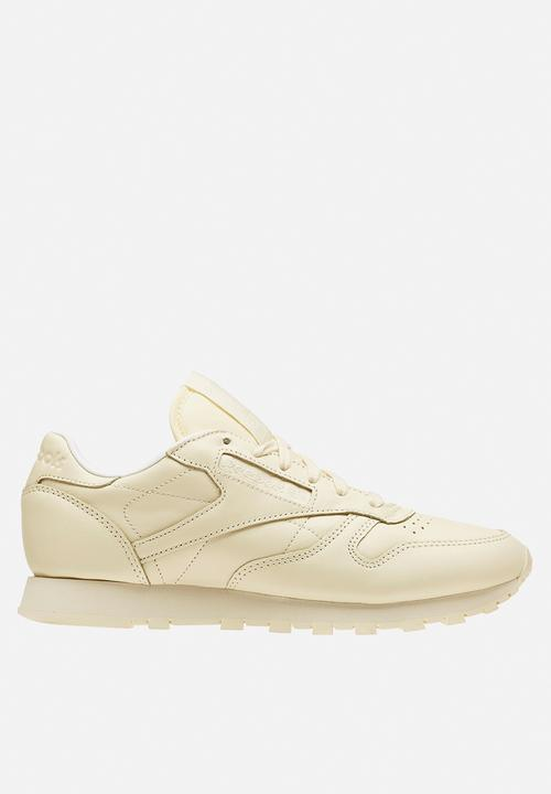 Reebok Classic Leather Pastels - BD2772 - Washed Yellow White Reebok ... ae893a6e2
