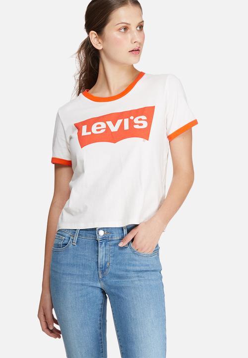 fbf505e485670d Ringer graphic surf tee - orange tab Levi's® T-Shirts, Vests & Camis ...