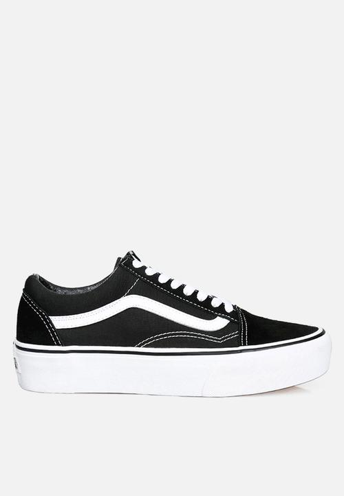 8c357454715 Vans Old Skool platform - black   white Vans Sneakers