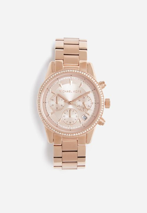 5f0e98e505bc Ritz - rose gold Michael Kors Watches