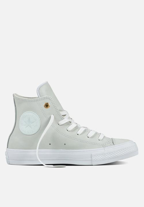 bbe18053f9a5 Chuck Taylor All Star II HI Craft Leather-555955C-Blue Flower White ...