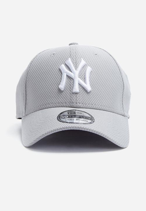 46179f0dd511ec 39Thirty diamond NY Yankees - gray /white New Era Headwear ...