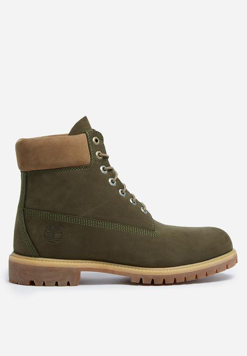 a3920363ff1 6 Inch premium boot - dark olive Timberland Boots | Superbalist.com