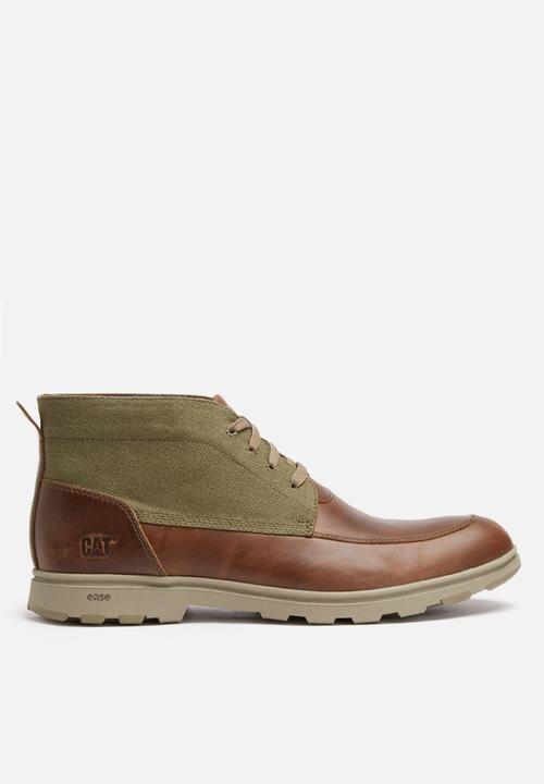 f8d6b337f4e62c Carnaby canvas - brown sugar Caterpillar Boots