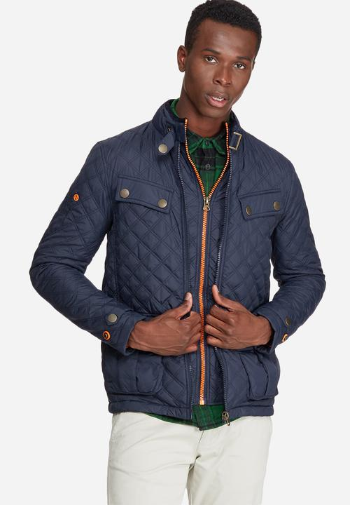 857ee65bb819a5 Apex quilt jacket - navy Superdry. Jackets