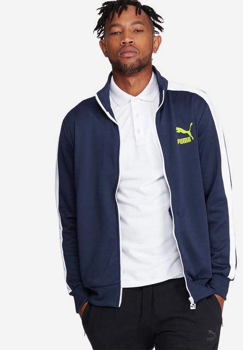f5c7d44fb1cb Archive t7 track jacket-peacoat PUMA R200 off 2 Tops