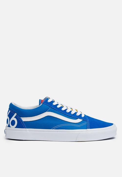 95db49e29d Vans Old Skool Freshness 1966 - Blue   White   Red Vans Sneakers ...