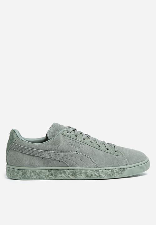 Puma Suede Classic Tonal - 36259501 - Agave Green PUMA Sneakers ... 37d17b32a