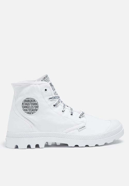 7a74fcca274 70th Anniversary Pampa Hi - white Palladium Boots | Superbalist.com