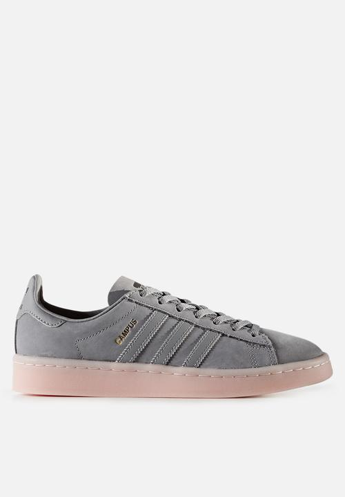 adidas Originals Campus - BY9838 - Grey   Icey Pink adidas Originals ... b8d1ea40a2