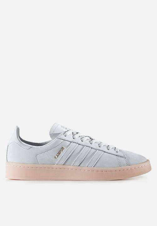 5531e47f9 adidas Originals Campus - BY9839 - White   Icey Pink adidas ...
