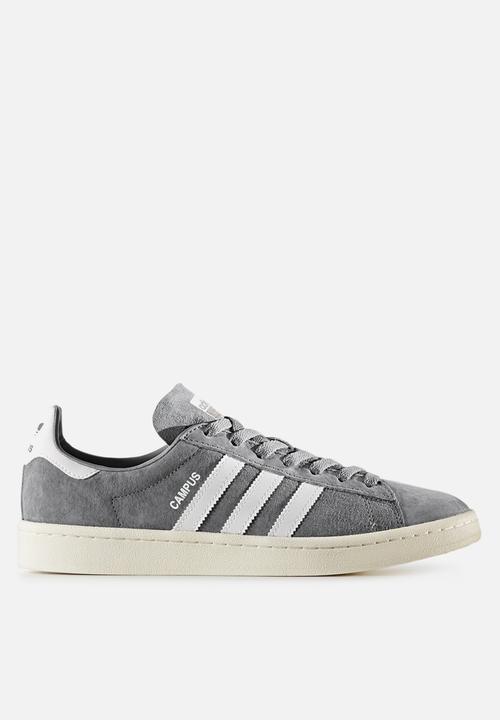 Adidas Originali Campus Bz0085 Bianco Grey 3 / Gesso Bianco Bz0085 Adidas 9e5a26