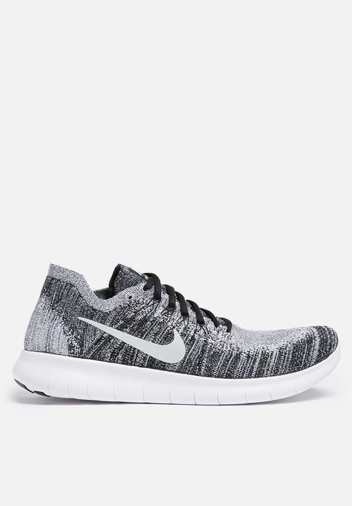 da83ff7abbd14 Nike Free Rn Flyknit 2 - 880843-003 - Black   White   Volt Nike ...